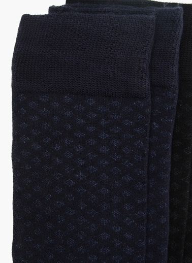 George Hogg 2'li Çorap Siyah